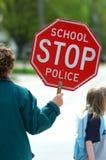 Protector de travesía de escuela Fotografía de archivo