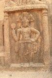Protector de Yaksha de las cuevas de Kanheri Fotos de archivo libres de regalías