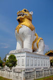 Protector del león Foto de archivo libre de regalías