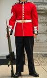 Protector en la atención - uniforme/Bodyshot Fotografía de archivo libre de regalías