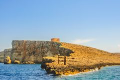 The Protector of the Mediterranean! (Fort Sopu, Malta) royalty free stock image