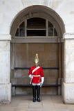 Protector real en Londres Imágenes de archivo libres de regalías