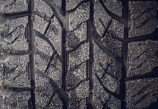 Protector tires. Workshop on repair of cars Royalty Free Stock Images