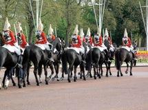 Protectores de caballo Imagen de archivo libre de regalías