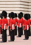 Protectores en uniforme Imagen de archivo libre de regalías