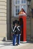 Protectores reales daneses Fotos de archivo