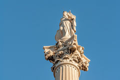 The protectress at place Castellane in Marseille in France Royalty Free Stock Image