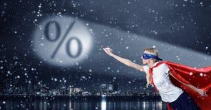 Protegga il vostro risparmio Immagine Stock Libera da Diritti
