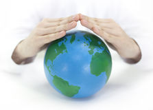 Protegga la terra Fotografie Stock Libere da Diritti