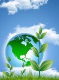 Protegga la terra Immagini Stock Libere da Diritti