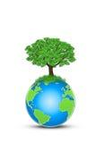 Protegga la terra Immagine Stock