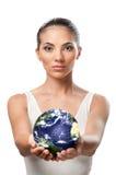 Protegga la terra e l'ambiente Immagini Stock
