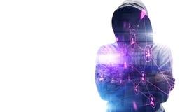 Protegga la vostra segretezza Immagine Stock