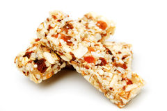 Protein bar isolated on white Stock Images