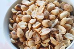 Protein and benefits from peanut Stock Photo