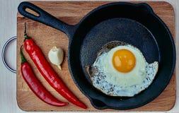Protein, Bratpfanne, gesund, Koch, lokalisiert, essend lizenzfreies stockbild