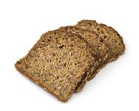 Protein bread. Isolated on a white background Stock Image