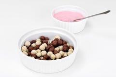 Protein Chocolate Beakfast Royalty Free Stock Image