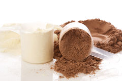 Protein powder Royalty Free Stock Image