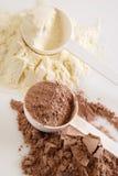 Protein powder Stock Image
