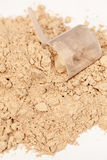 Protein powder with scoop Royalty Free Stock Photography