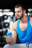 Protein shake Stock Images
