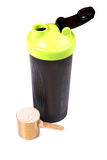 Protein shaker Stock Photography