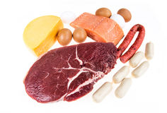 PROTEIN source Royalty Free Stock Photos