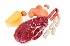 PROTEIN source Royalty Free Stock Image