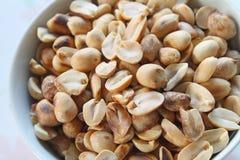 Proteina e benefici dall'arachide Fotografia Stock