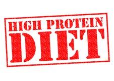 Proteinreiche Diät stock abbildung