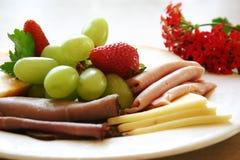 proteiny platter Obrazy Royalty Free