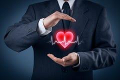 Proteja cuidados médicos da saúde foto de stock royalty free
