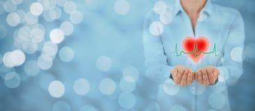 Proteja la atención sanitaria de la salud Fotografía de archivo libre de regalías