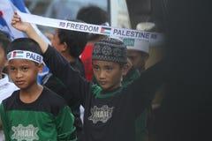 Proteja la Palestina Foto de archivo libre de regalías