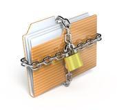 Proteja o dobrador Imagem de Stock Royalty Free