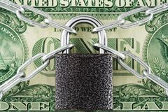 Proteja seu dinheiro Fotos de Stock