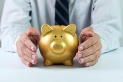 Proteja seu dinheiro imagens de stock royalty free