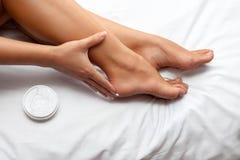 Proteja seus pés Imagens de Stock Royalty Free