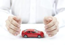 Proteja su coche Imágenes de archivo libres de regalías