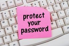 Proteja su contraseña imágenes de archivo libres de regalías