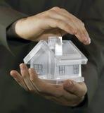 Proteja sua casa Imagem de Stock