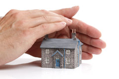 Proteja sua casa foto de stock royalty free