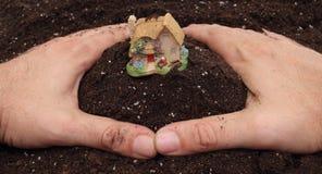 Proteja sua terra Imagem de Stock
