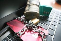 Proteja sus activos y foto común de las cuentas imagen de archivo