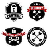 Proteja y seguridad Foto de archivo libre de regalías