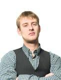 protekcjonalny mężczyzna Zdjęcia Royalty Free