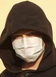 Protenction adolescente de la gripe Foto de archivo libre de regalías