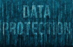 Proteção de dados Foto de Stock Royalty Free