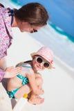 Proteção de Sun Imagens de Stock Royalty Free